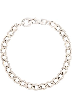 Martha Calvo The 007 Curb Choker in Metallic .