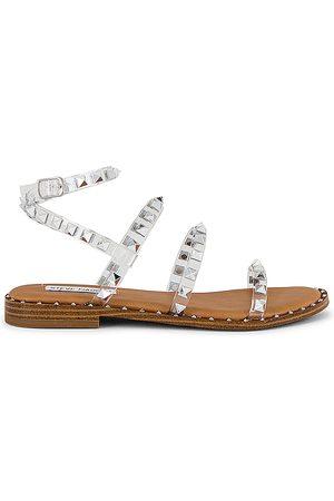 Steve Madden Travel Sandal in Tan.