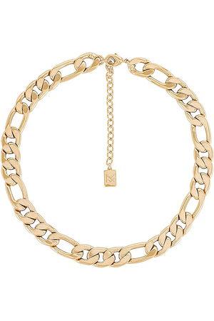 MIRANDA FRYE Brooklyn Necklace in Metallic .