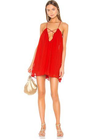 Lovers + Friends Titan Mini Dress in Red.
