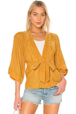 House of Harlow X REVOLVE Samar Jacket in Yellow.