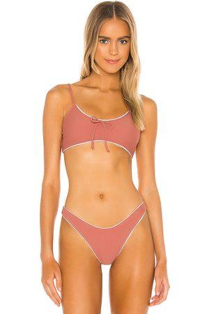 Juillet Laura Bikini Top in Rose.