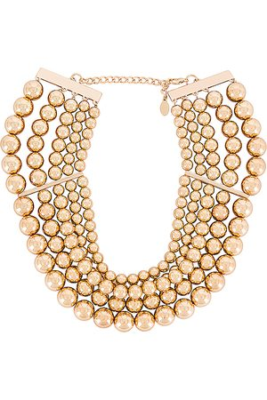 8 Other Reasons Amber Necklace in Metallic .