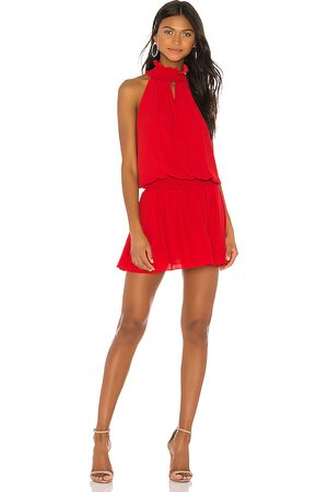 Amanda Uprichard Kimmie Dress in Red.