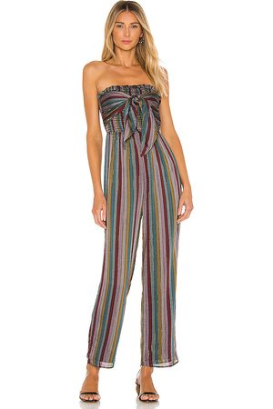 House of Harlow X REVOLVE Neela Jumpsuit in Grey,Red.