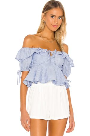 Tularosa Maggie Top in Baby .