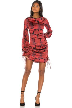 L'Academie The Gallarde Mini Dress in Red.