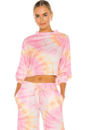 Beach Riot Ava Sweatshirt in Pink.