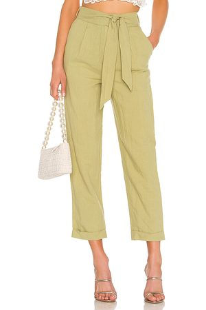 MAJORELLE Whitley Pants in Olive.