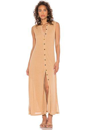 Callahan X REVOLVE Mira Dress in Tan.