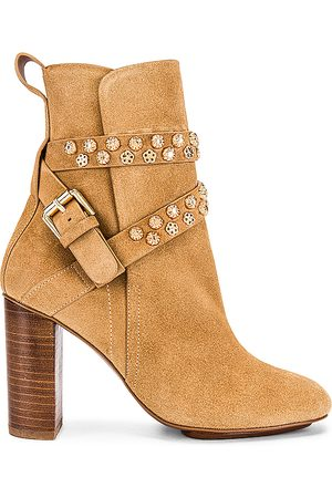 See by Chloé Leon Bootie in Tan.