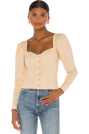 Song of Style Angelo Top in Tan.