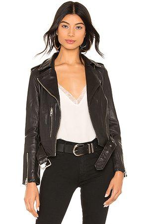AllSaints Balfern Leather Biker Jacket in .