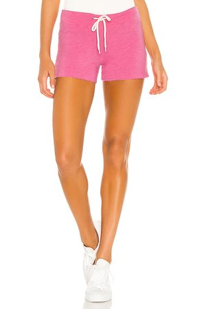 MONROW Supersoft Vintage Shorts in Pink.