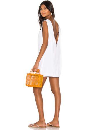 Indah Pella Plunge Mini Dress in .