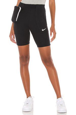 Nike Tech Pack Bike Short in Black.