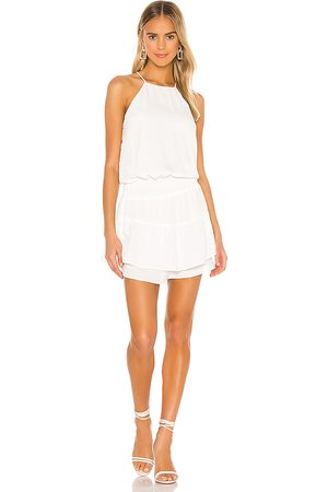 krisa Smocked Halter Dress in .