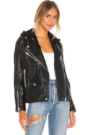 BLANK NYC Moto Jacket in Black.