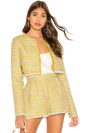 Lovers + Friends Analee Jacket in Yellow.