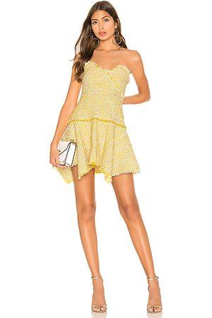 Lovers + Friends Abby Mini Dress in Yellow.