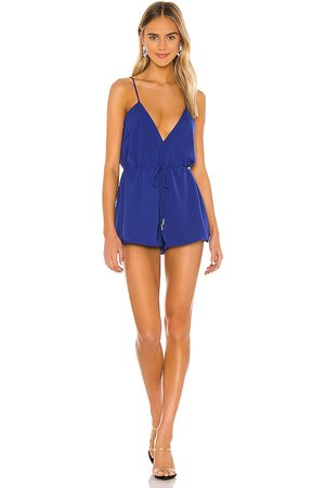 superdown Austin Deep V Romper in .
