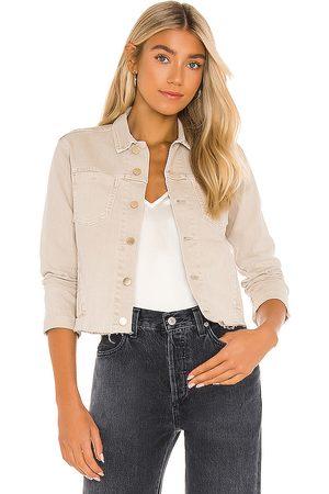 L'Agence Women Denim Jackets - Janelle Slim Jacket in .