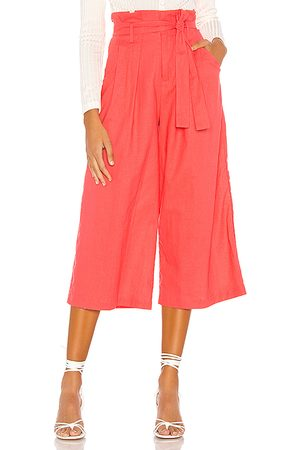 LPA Wide Leg Paperbag Pant in .