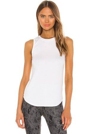STRUT-THIS Judy Tank in White.