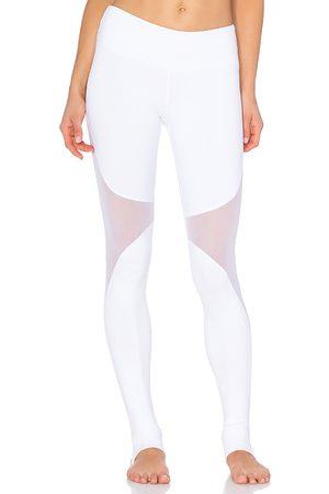 alo Coast Legging in White.