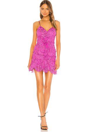 NBD Marvin Mini Dress in Fuchsia.