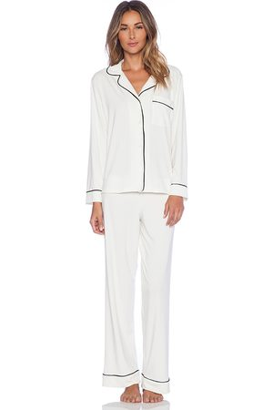 Eberjey Gisele PJ Set in White.