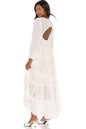 Free People Mockingbird Maxi Dress in White.
