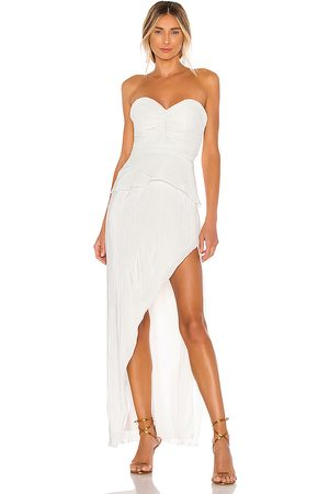 NBD Easton Gown in White.