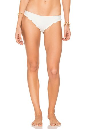 Marysia Broadway Bikini Bottom in White.