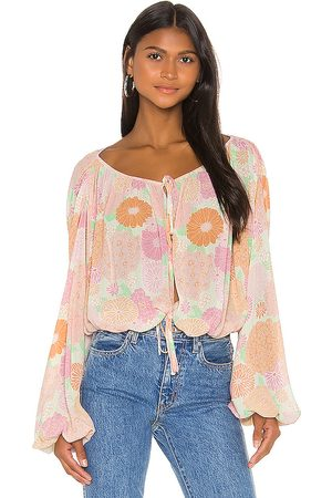 L'Academie The Alayna Top in Pink.
