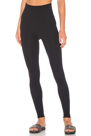 Beyond Yoga Take Me Higher Long Legging in Black.