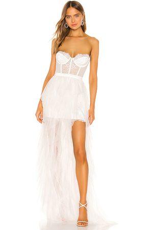 For Love & Lemons X REVOLVE Bustier Gown in .