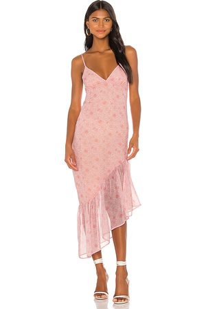 Privacy Please Hana Maxi Dress in Pink.