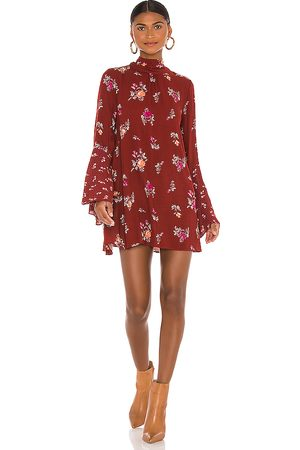 Free People Tate Tunic in Brick.