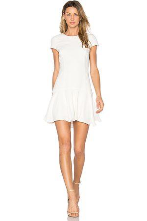 Amanda Uprichard Hudson Dress in White.