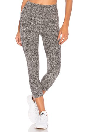 Beyond Yoga Spacedye High Waisted Legging in Black.