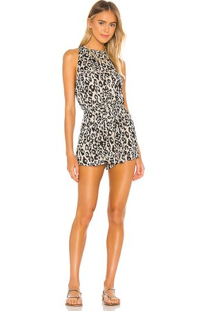 LPA Lala Romper in Black.