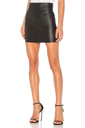 SPRWMN Stretch Mini Skirt in .