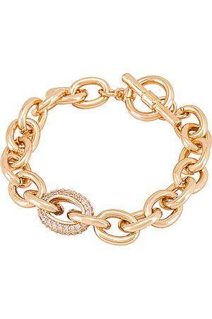 Ettika Toggle Bracelet in Metallic .