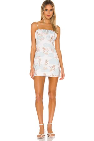 Song of Style Women Party Dresses - Willow Mini Dress in Ivory.