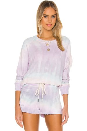 N:philanthropy Blackbird Sweatshirt in Lavender.