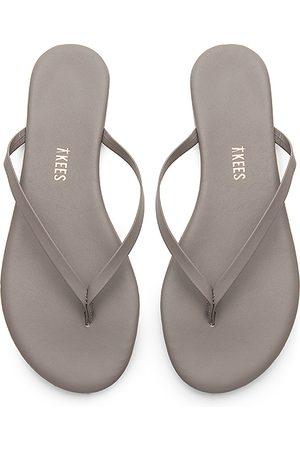 Tkees Solids Flip Flop in Gray.