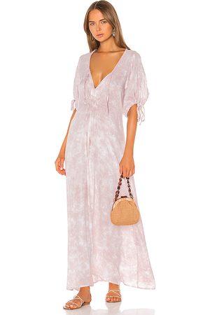 TIARE HAWAII Paroa Bay Dress in Blush.