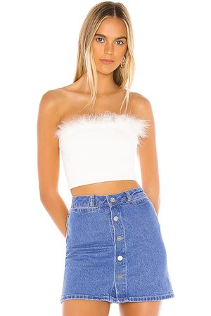 superdown Olivia Strapless Top in .