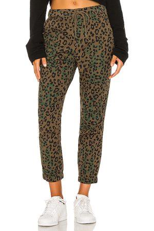 Pam & Gela Jaguar Cargo Pants in Green.